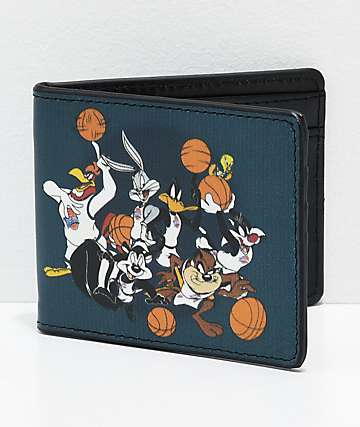Buckle-Down Toon Squad Bball Team Bi-Fold Wallet