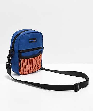 Bumbag Nick's bolso de mano en azul y naranja