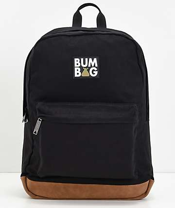 Bumbag Scout Black & Gold Backpack