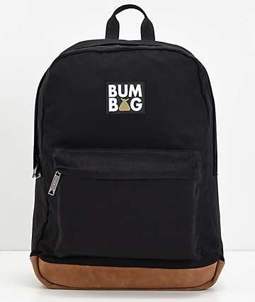 Bumbag Scout mochila negra y dorada