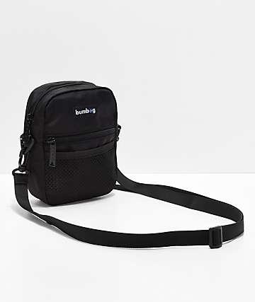 Bumbag Shaolin Black & Blue Shoulder Bag