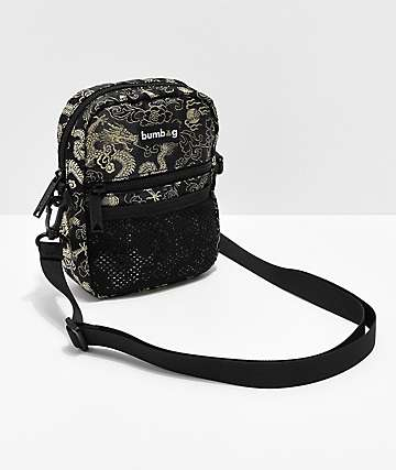 Bumbag Shaolin Classic Compact Black Shoulder Bag