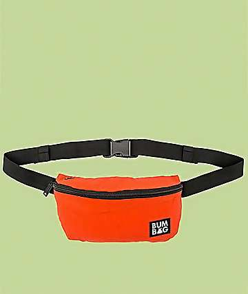 Bumbag Squirrel Pouch Orange Fanny Pack