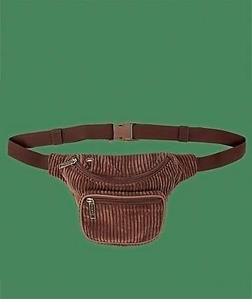 Bumbag Velma Deluxe Brown Corduroy Fanny Pack