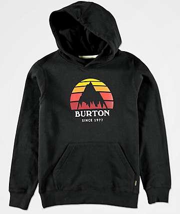 Burton Boys Underhill Black Hoodie