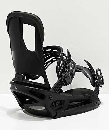 Burton Cartel EST Black Snowboard Bindings 2020