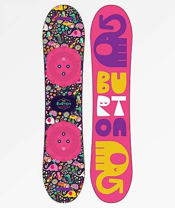 Burton Chicklet tabla de snowboard para niños