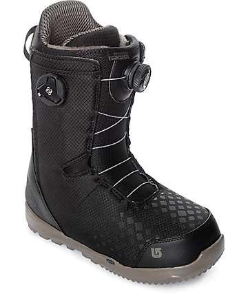 Burton Concord Black Boa Snowboard Boots