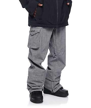 Burton Covert Bog pantalones de snowboard grises