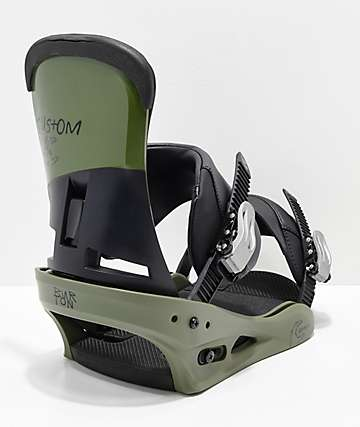 Burton Custom True Grit Snowboard Bindings 2019