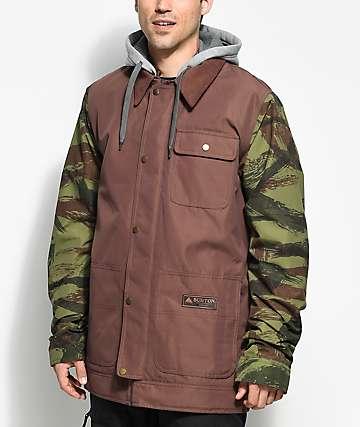 Burton Dunmore Chestnut Camo 10K Snowboard Jacket