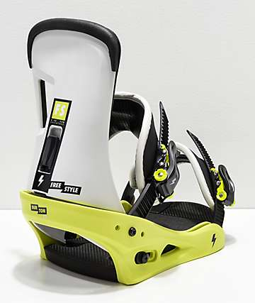 Burton Freestyle MTN Dude Green Snowboard Bindings 2019