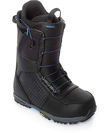 Burton Imperial Speed Zone botas de snowboard negras