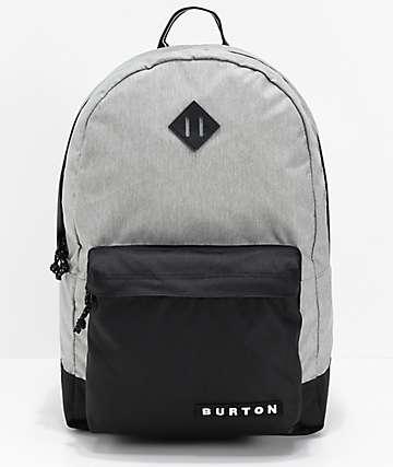 Burton Kettle mochila gris y negra