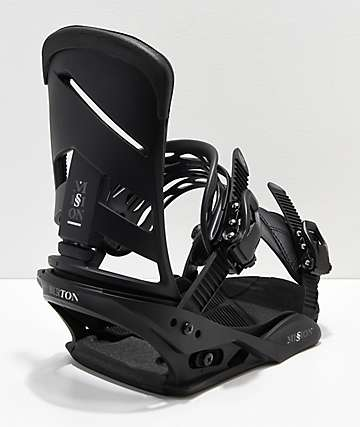 Burton Mission Blackish Snowboard Bindings 2019