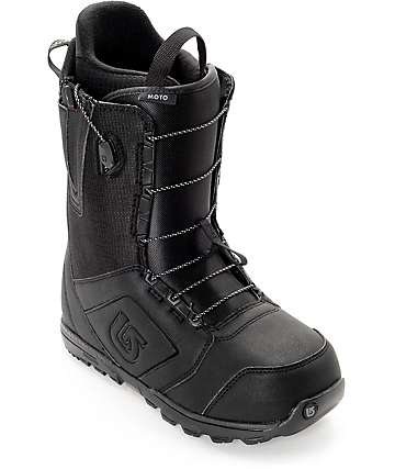 Burton Moto botas de snowboard en negro