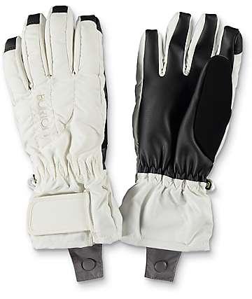 Burton Profile Stout White Snowboard Gloves