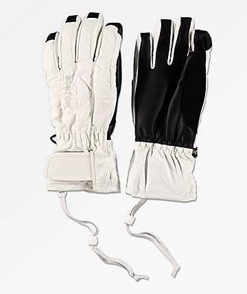 Burton Profile Under Glove guantes de snowboard en blanco