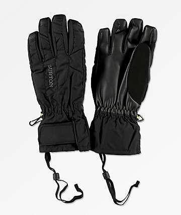 Burton Profile Under Glove guantes negros de snowboard para mujeres