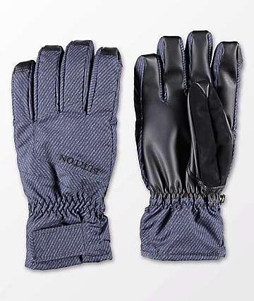 Burton Profile Under guantes de snowboard azul marino