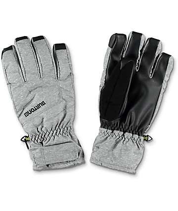 Burton Profile guantes under de snowboard en gris y negro