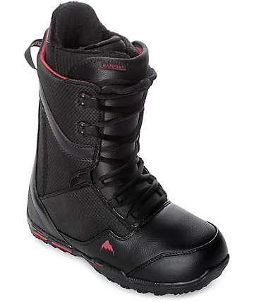 Burton Rampant botas de snowboard en negro