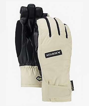 Burton Reverb Gore-Tex guantes de snowboard blancos para mujeres