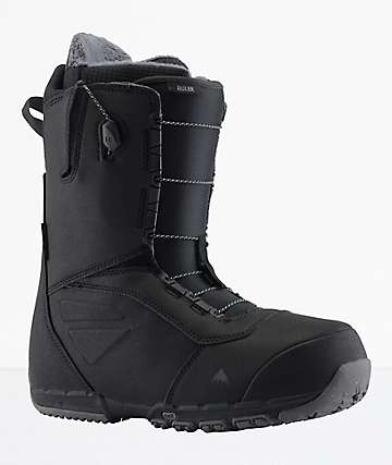 Burton Ruler Black Speed Zone Snowboard Boots 2019