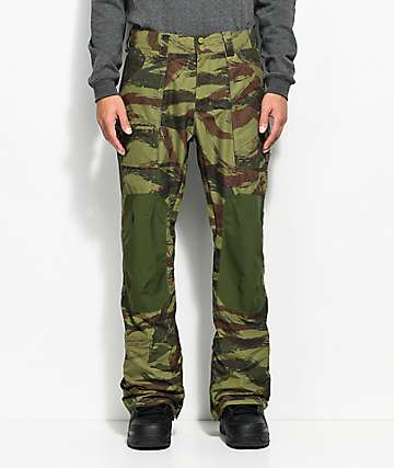 Burton Southside Camo 10K Snowboard Pants