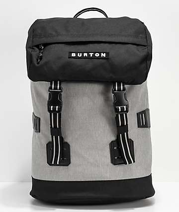 Burton Tinder mochila gris jaspeada