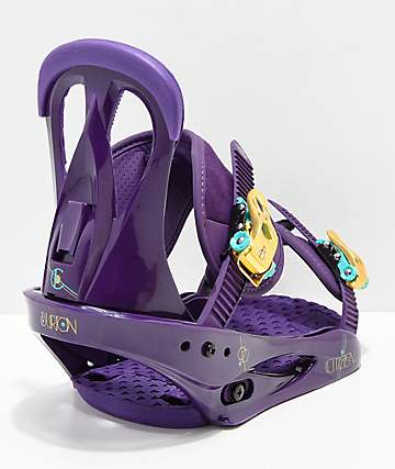 Burton Women's Citizen Purps Snowboard Bindings 2019