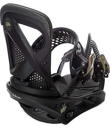 Burton Womens Lexa Black Snowboard Bindings