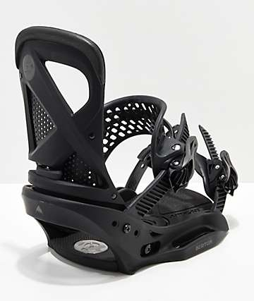 Burton Womens Lexa Brackish Black Snowboard Bindings 2019