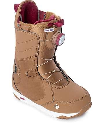 Burton Womens Limelight Blush Boa Snowboard Boots