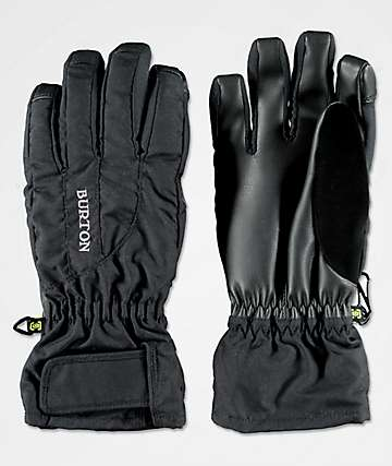 Burton Womens Profile Under Black Snowboard Gloves