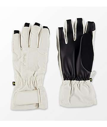 Burton Womens Profile Under White Snowboard Gloves