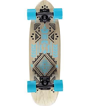 "Bustin Modela Aztec 26.4"" tabla de skate cruiser completo"