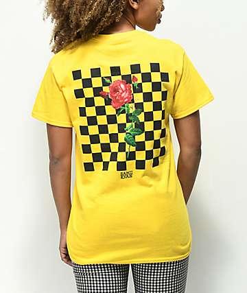 By Sami Ryan Let Me Go Yellow T-Shirt