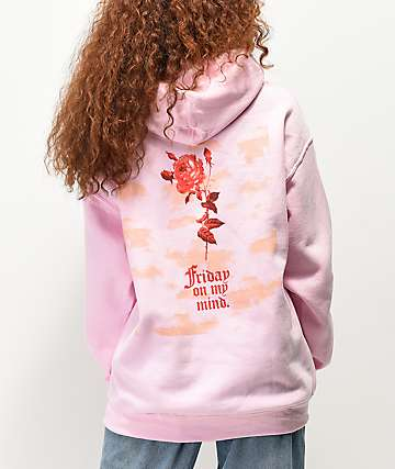 By Samii Ryan Friday Pink Hoodie