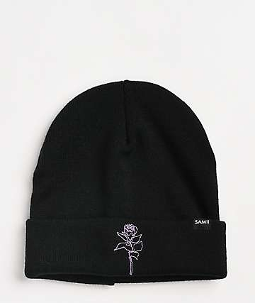 By Samii Ryan Kanji Lust Black Beanie