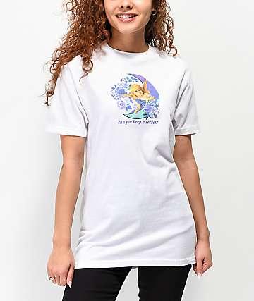 By Samii Ryan Keep A Secret camiseta blanca