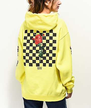 By Samii Ryan Let Me Go Neon Yellow Hoodie