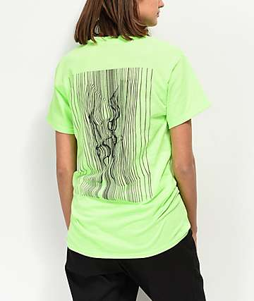 By Samii Ryan Love Potion Neon Green T-Shirt