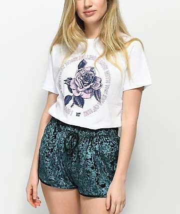By Samii Ryan Love camiseta blanca