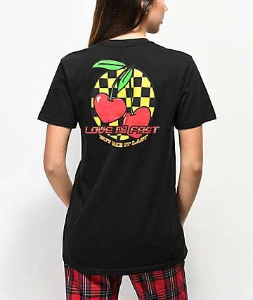 By Samii Ryan Make It Last Black T-Shirt