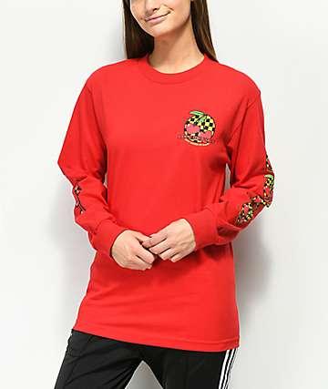 By Samii Ryan Make It Last camiseta roja de manga larga