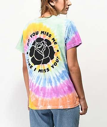 By Samii Ryan Miss Me Tie Dye T-Shirt
