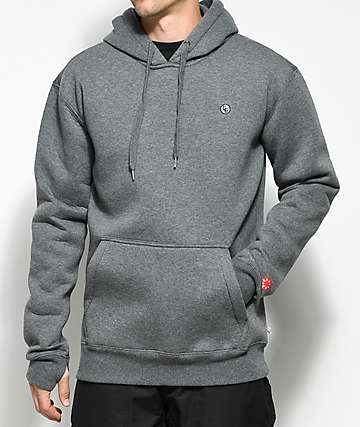 CG Habitats Standard DWR Pullover Heather Grey Tech Fleece Hoodie
