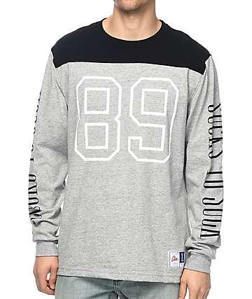CLSC Heisman camiseta gris de manga larga
