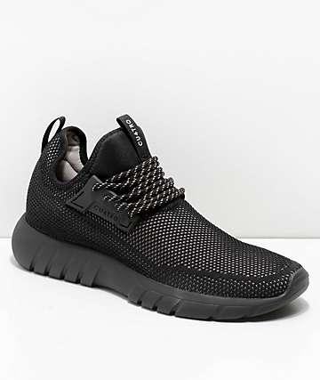 CU4TRO Bolt zapatos de punto negro